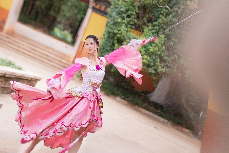 天涯明月刀·天香·芳姿盈袖cosplay