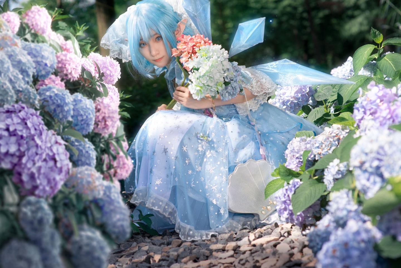 东方project 琪露诺 cosplay