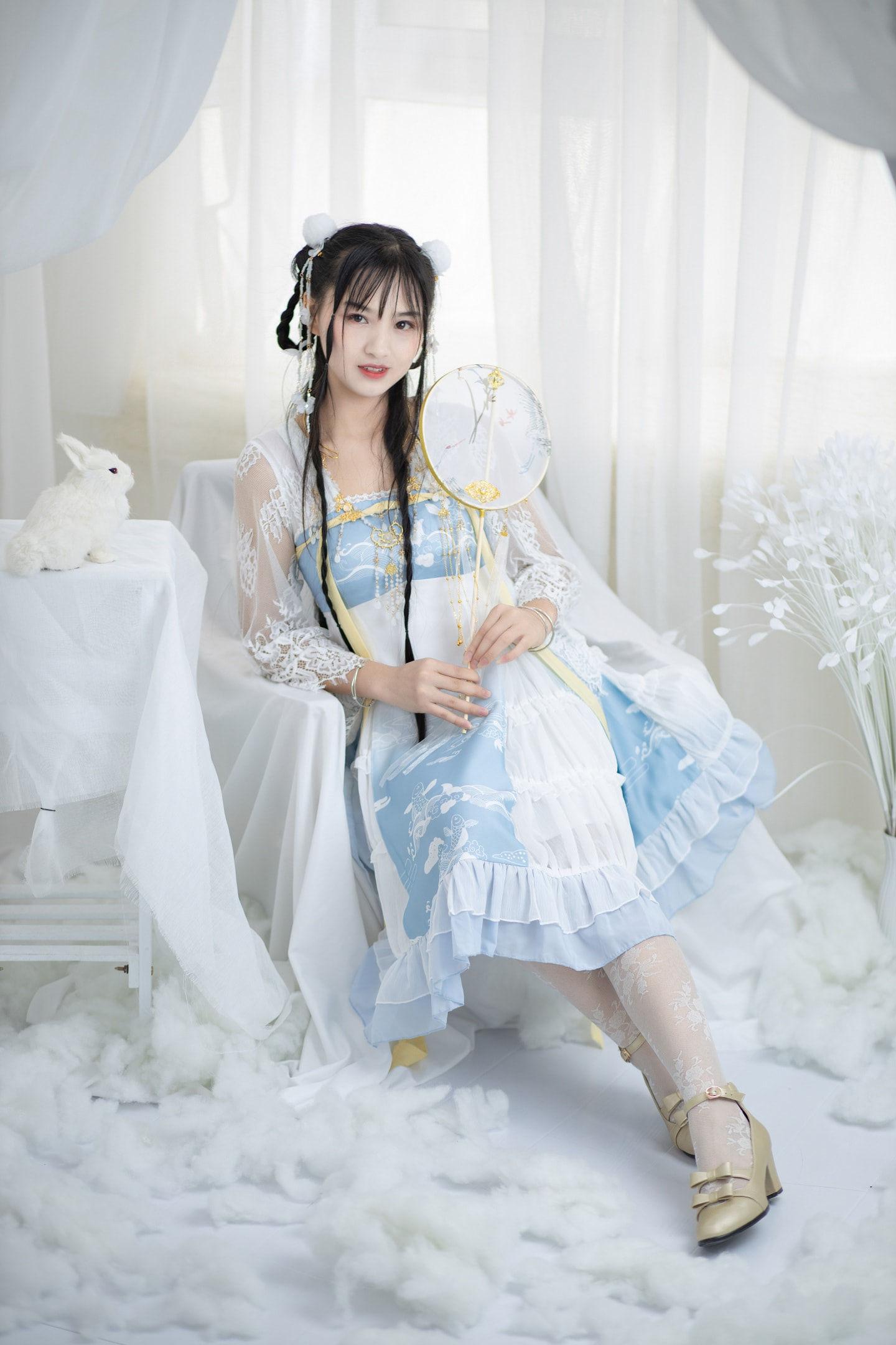 Lolita私影,飘在云端是什么感觉呢
