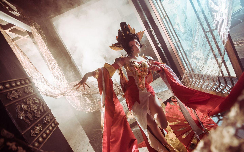 王者荣耀 武则天cosplay插图(5)
