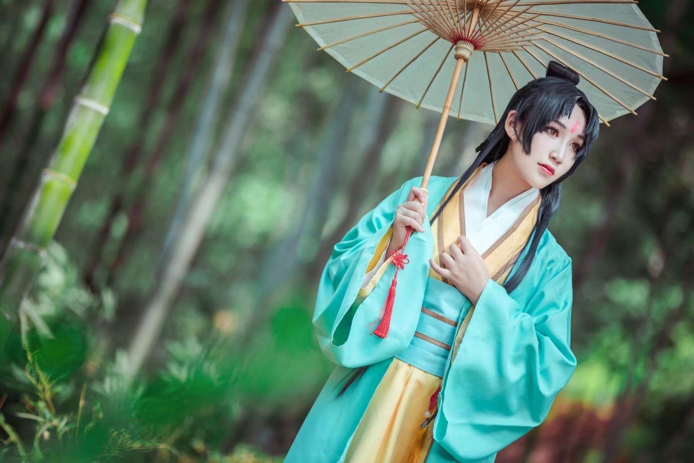 狐妖小红娘 东方淮竹cosplay