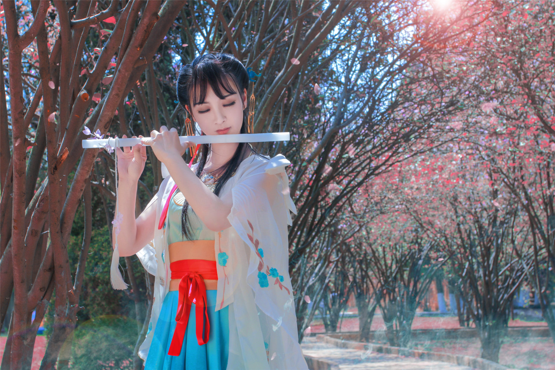 天涯明月刀·心王·醉花阴·少女·cosplay