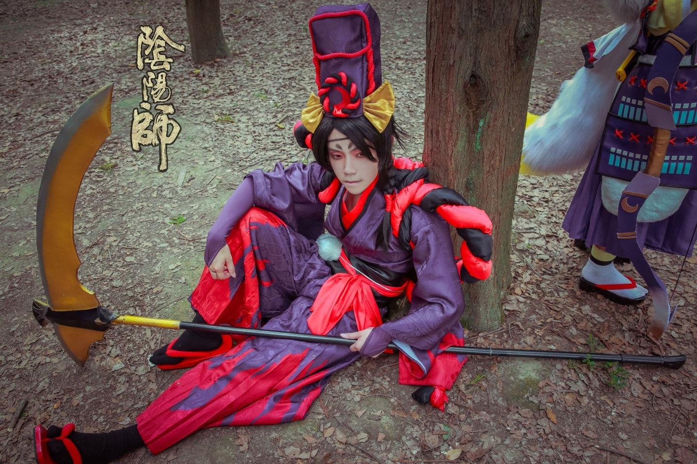 阴阳师-鬼使黑cosplay