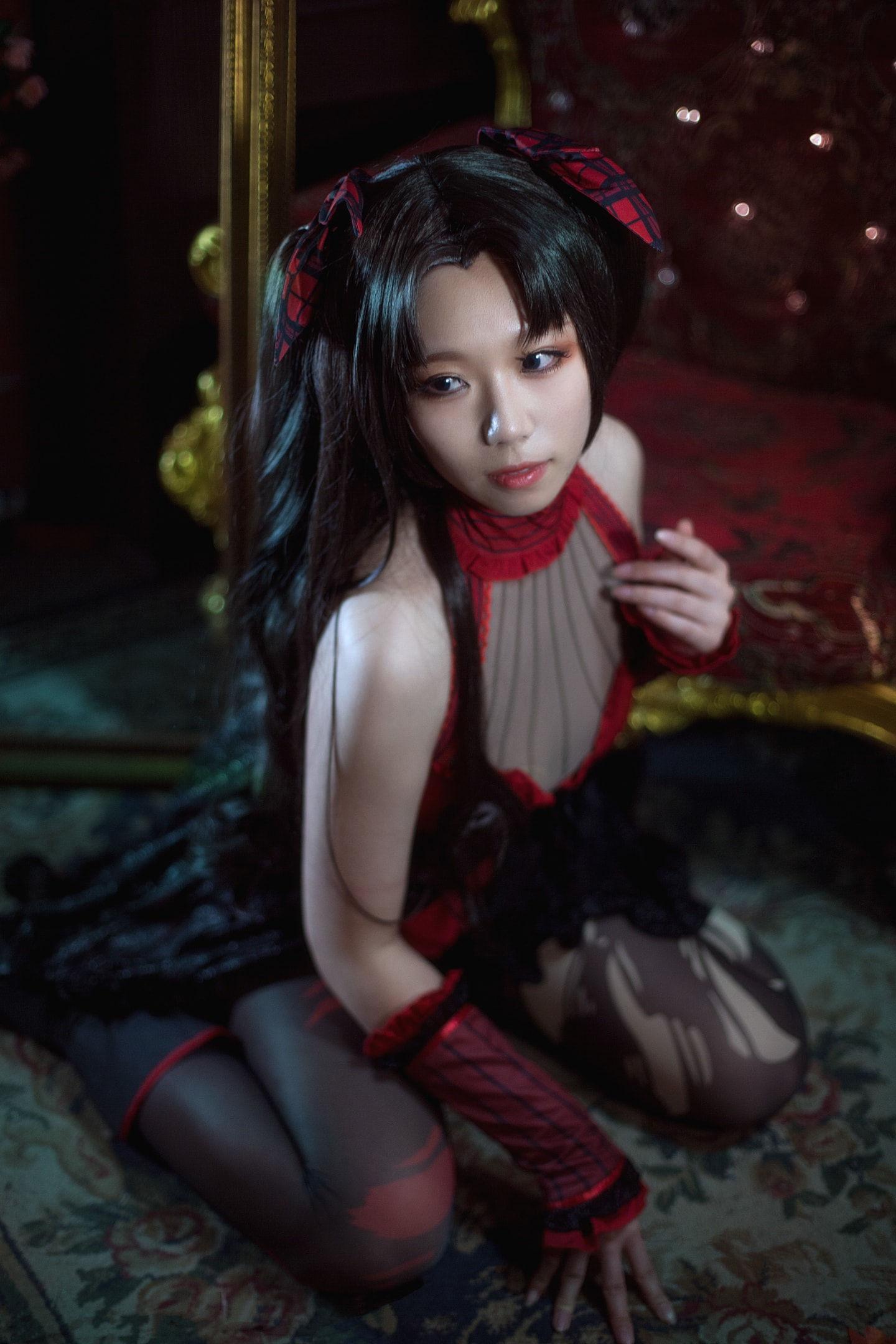 FATE 远坂凛cosplay 月之女王插图(6)
