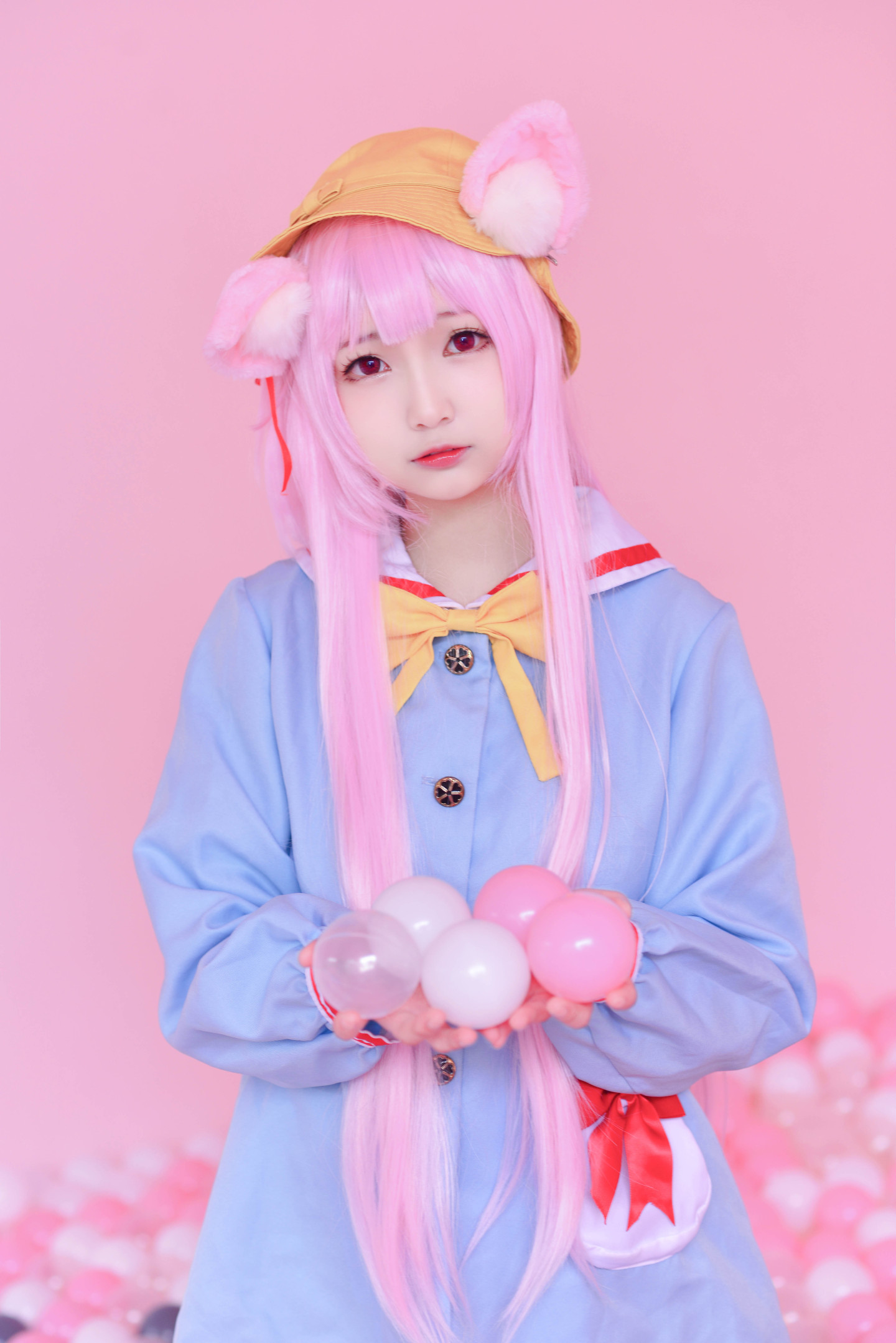 碧蓝航线如月睦月cosplay