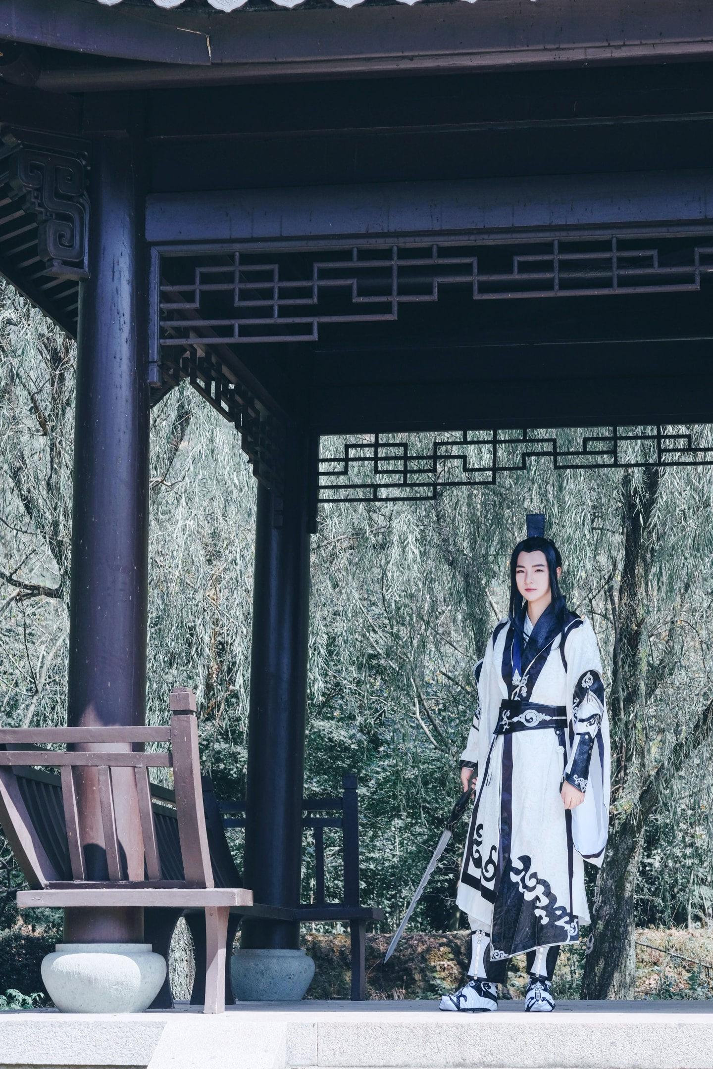 剑网三纯阳cosplay插图