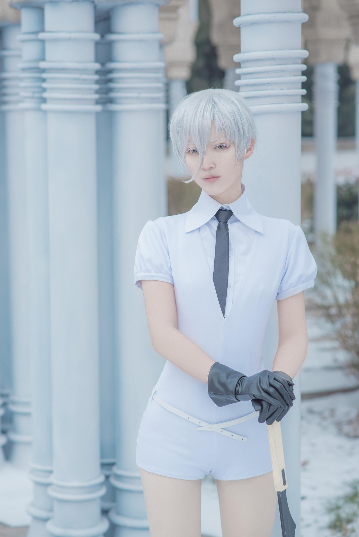 宝石之国冬巡组cosplay插图(6)