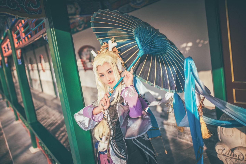 剑网三万花朔雪萝莉cosplay