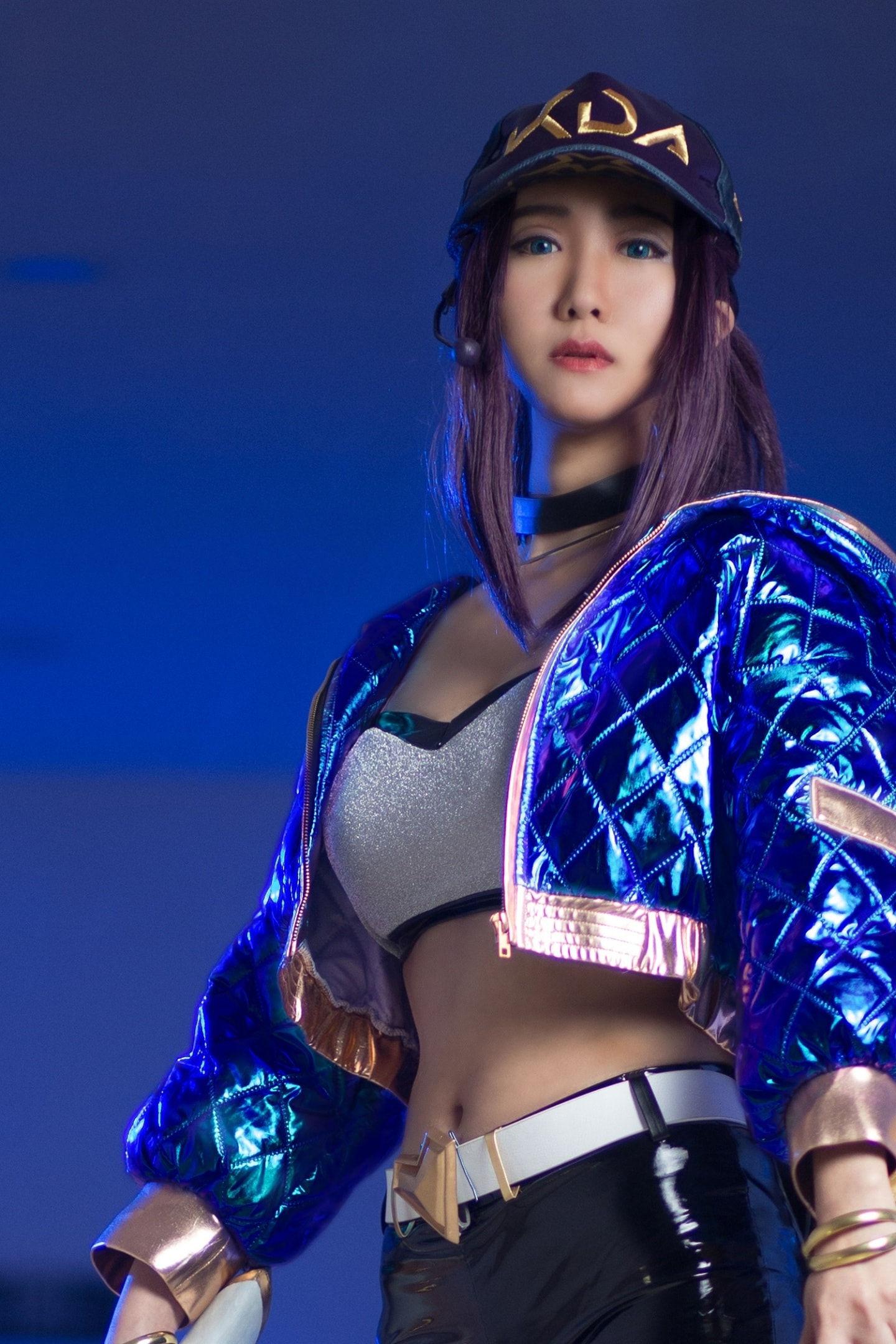 英雄联盟kda阿卡丽cosplay插图(1)