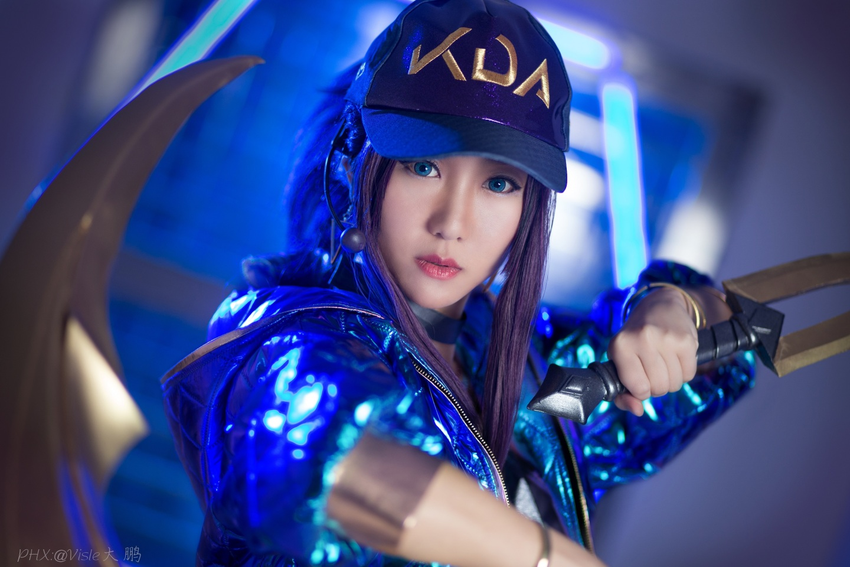 英雄联盟kda阿卡丽cosplay插图(2)
