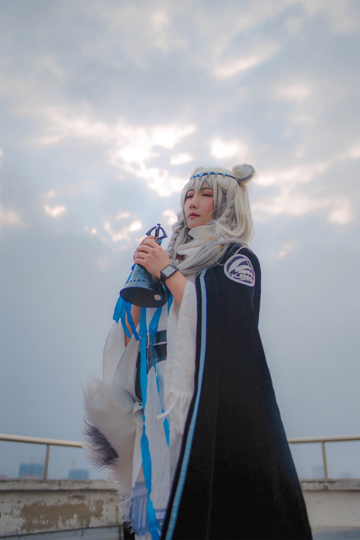 明日方舟 初雪cosplay