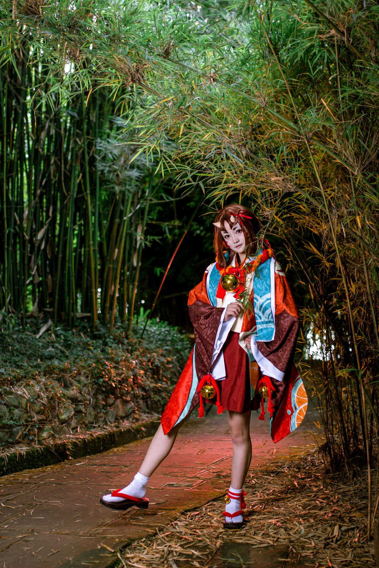 阴阳师座敷童子cosplay