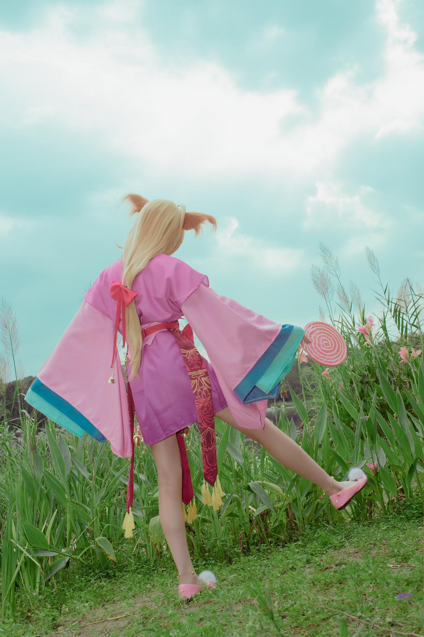 狐妖小红娘涂山苏苏cosplay