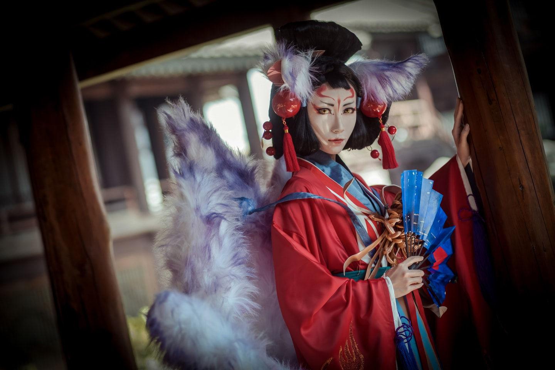 阴阳师 玉藻前 cosplay
