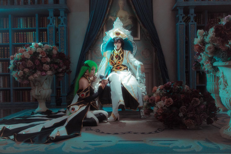 反叛的鲁路修鲁路修&C.C.cosplay