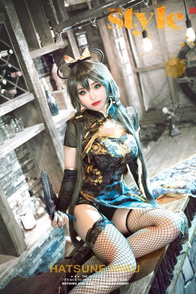 洛天依 金丝雀cosplay