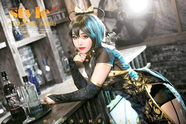 洛天依 金丝雀cosplay插图(2)
