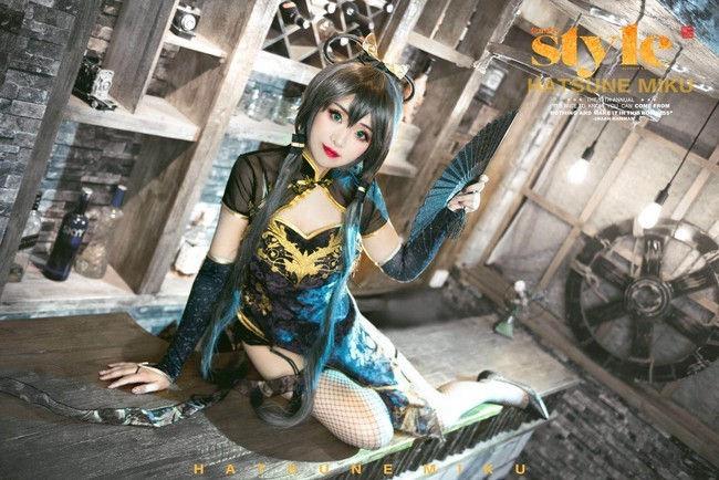 洛天依 金丝雀cosplay插图(5)