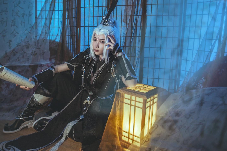 剑三纯阳 黑鹤道长cosplay