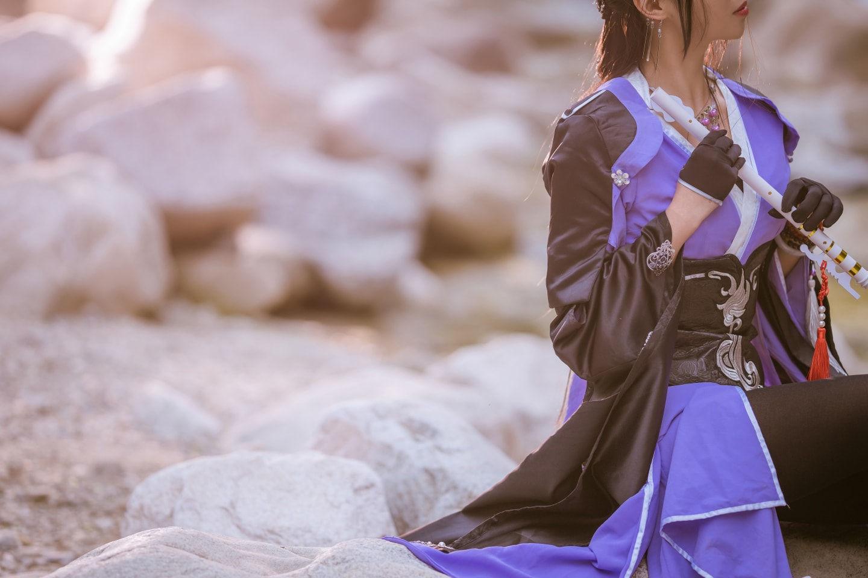 剑侠情缘三 万花成女cosplay