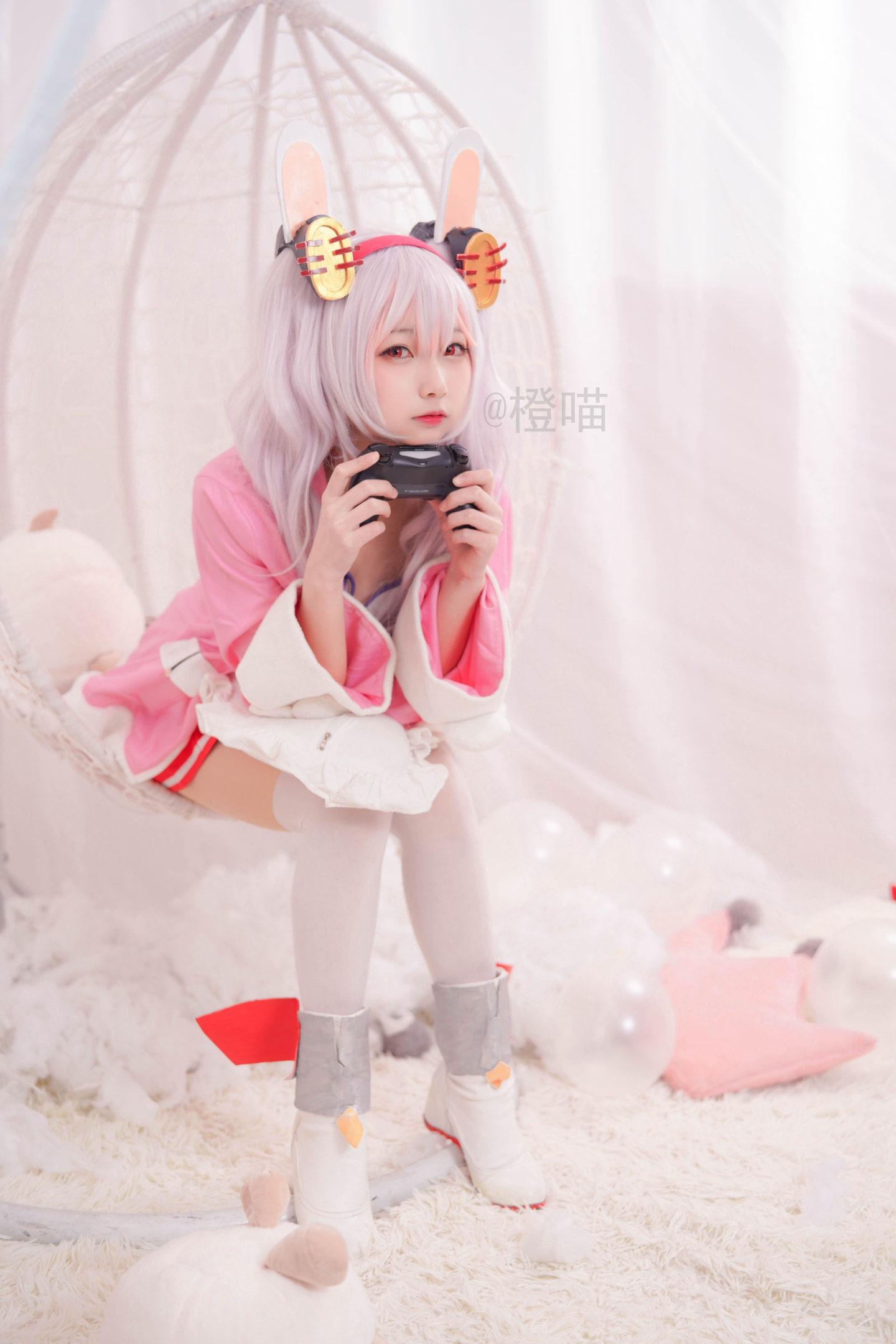碧蓝航线拉菲cosplay