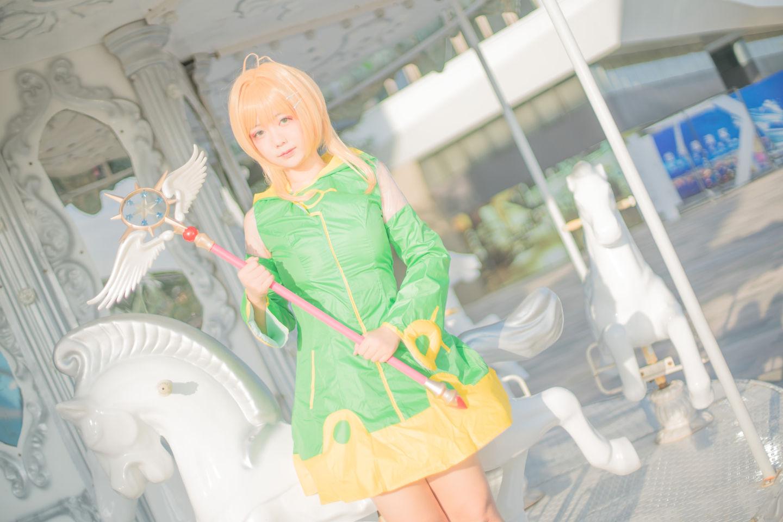 小樱青蛙战斗服cosplay