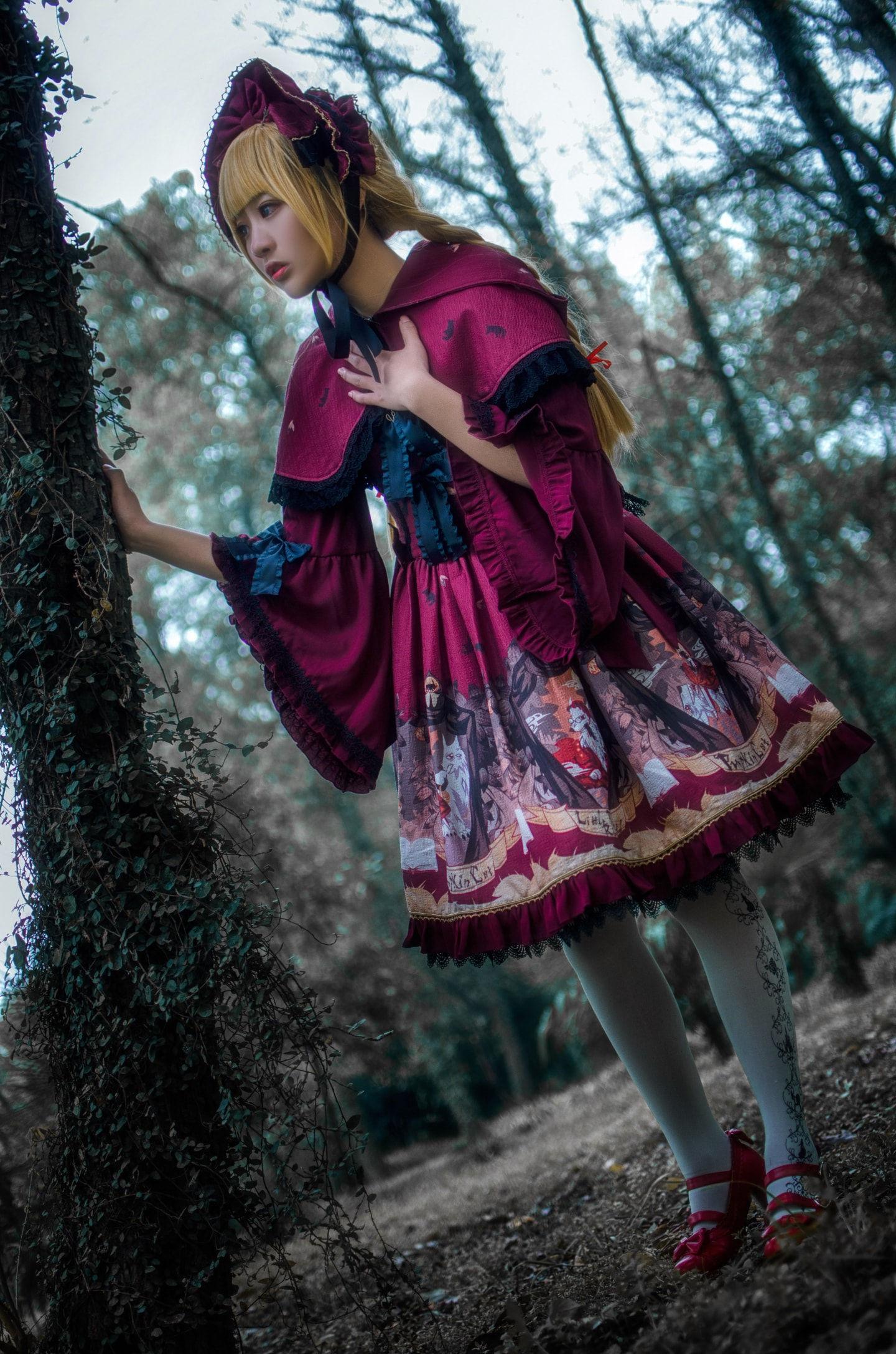 小红帽lolita