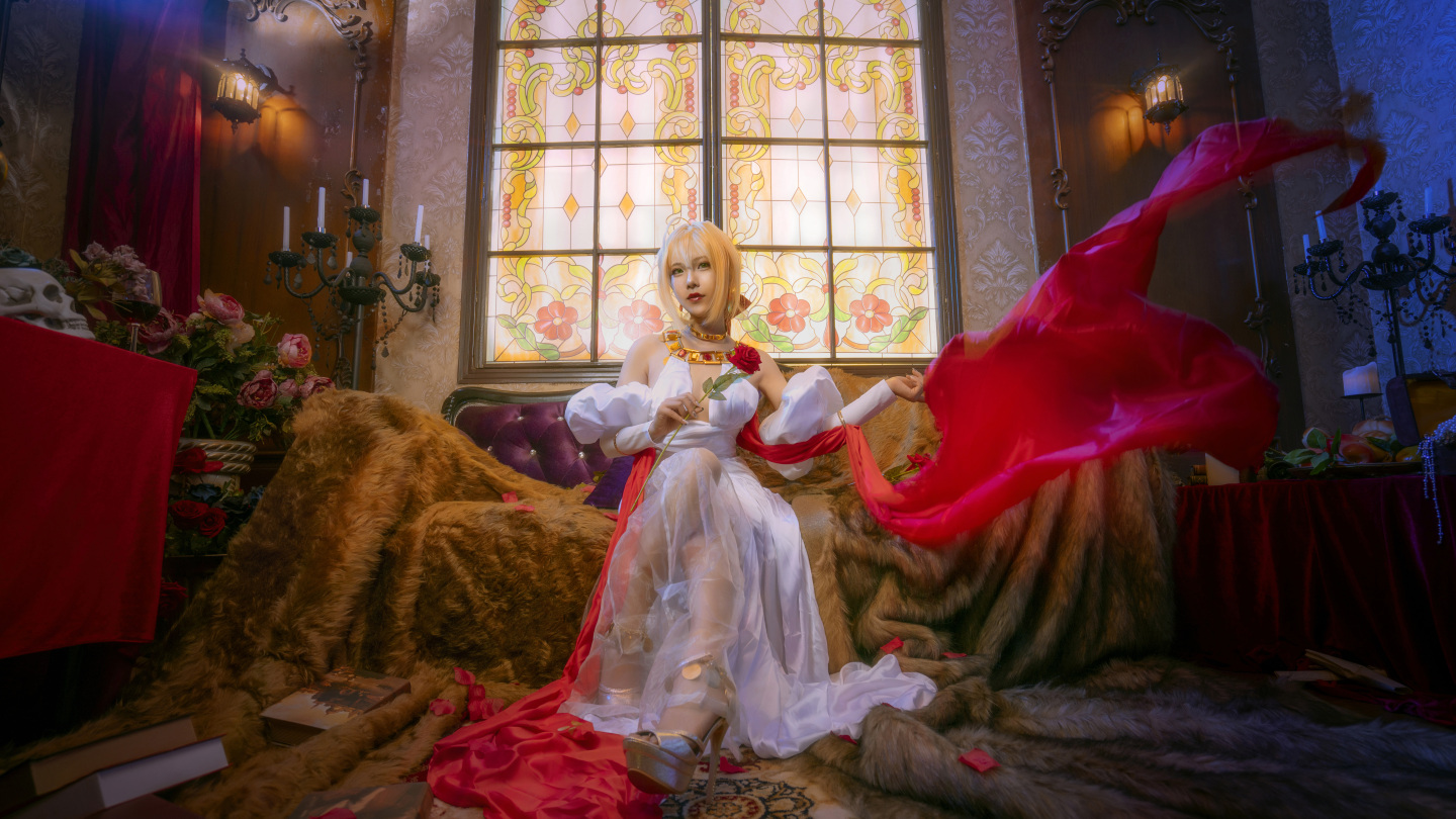 Fate grand order 尼禄cosplay插图