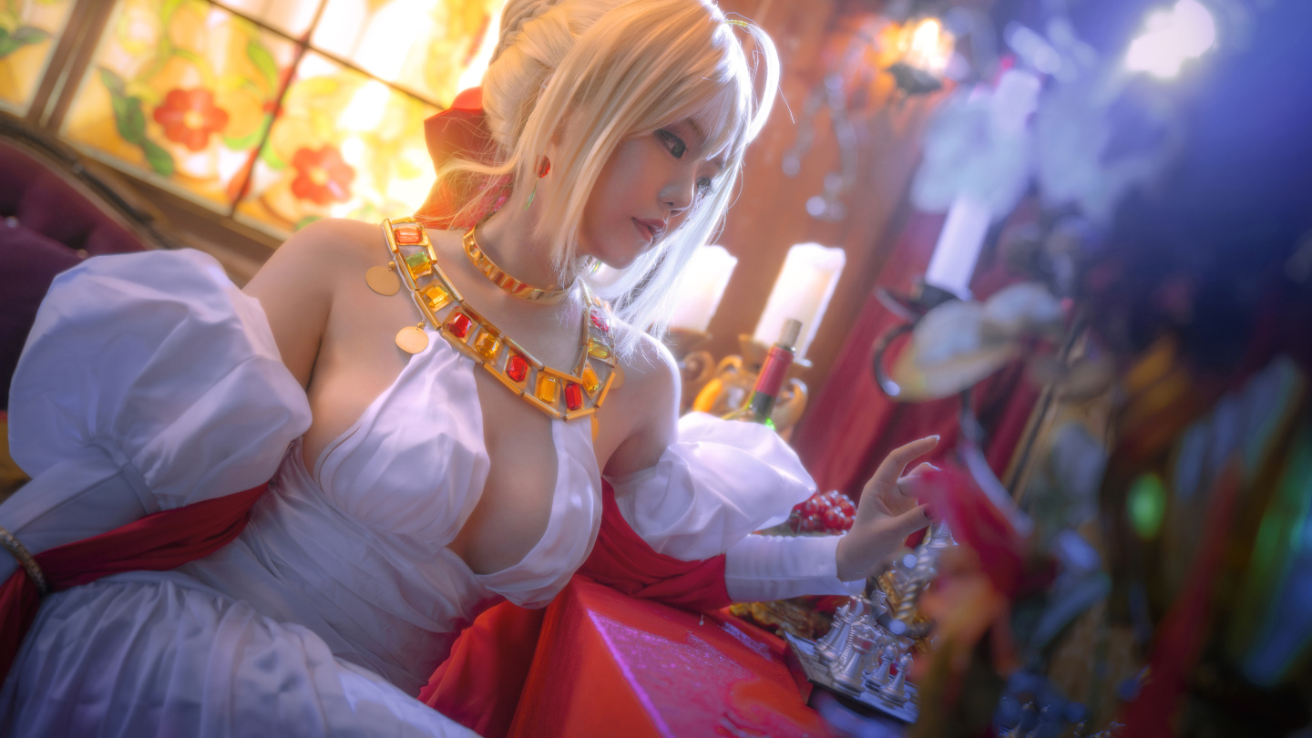 Fate grand order 尼禄cosplay插图(6)
