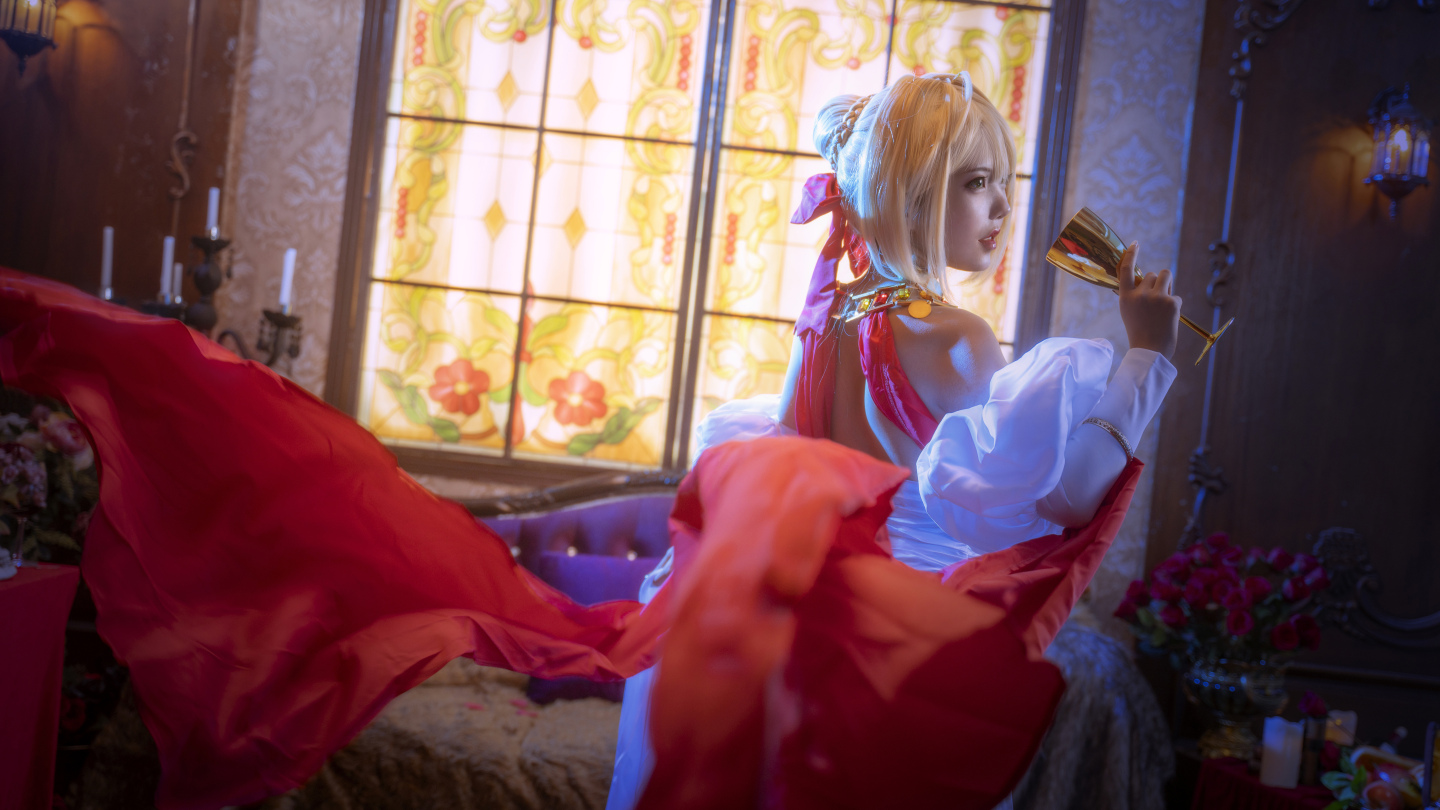 Fate grand order 尼禄cosplay插图(5)