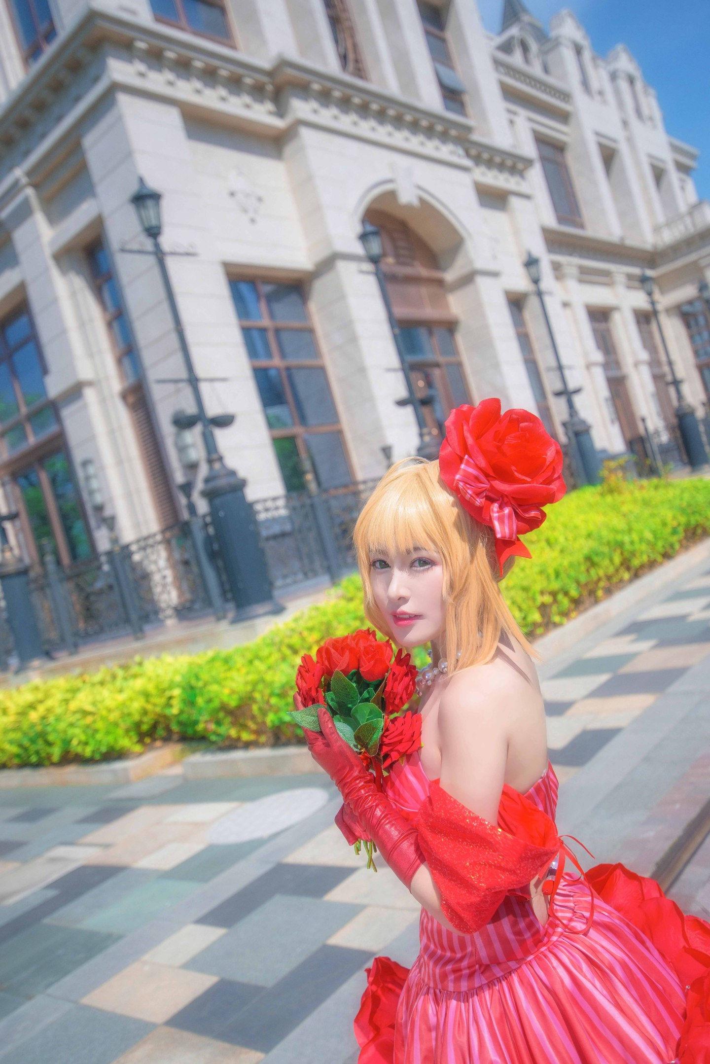 Fate/EXTRA 尼禄偶像皇帝手办ver cosplay插图(1)