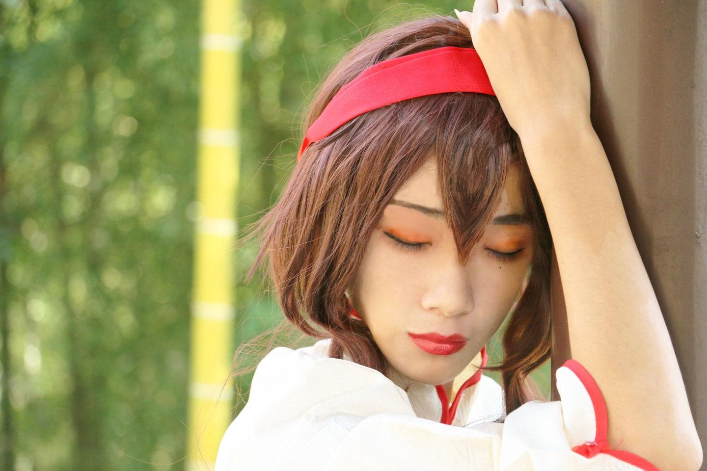 Vocaloid 乐正绫cosplay